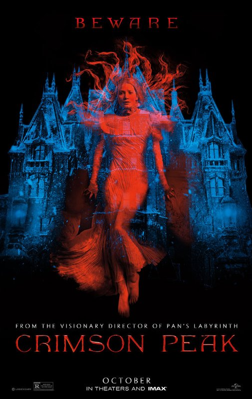Ep. 185 - Crimson Peak (Rebecca vs. A Good Marriage)