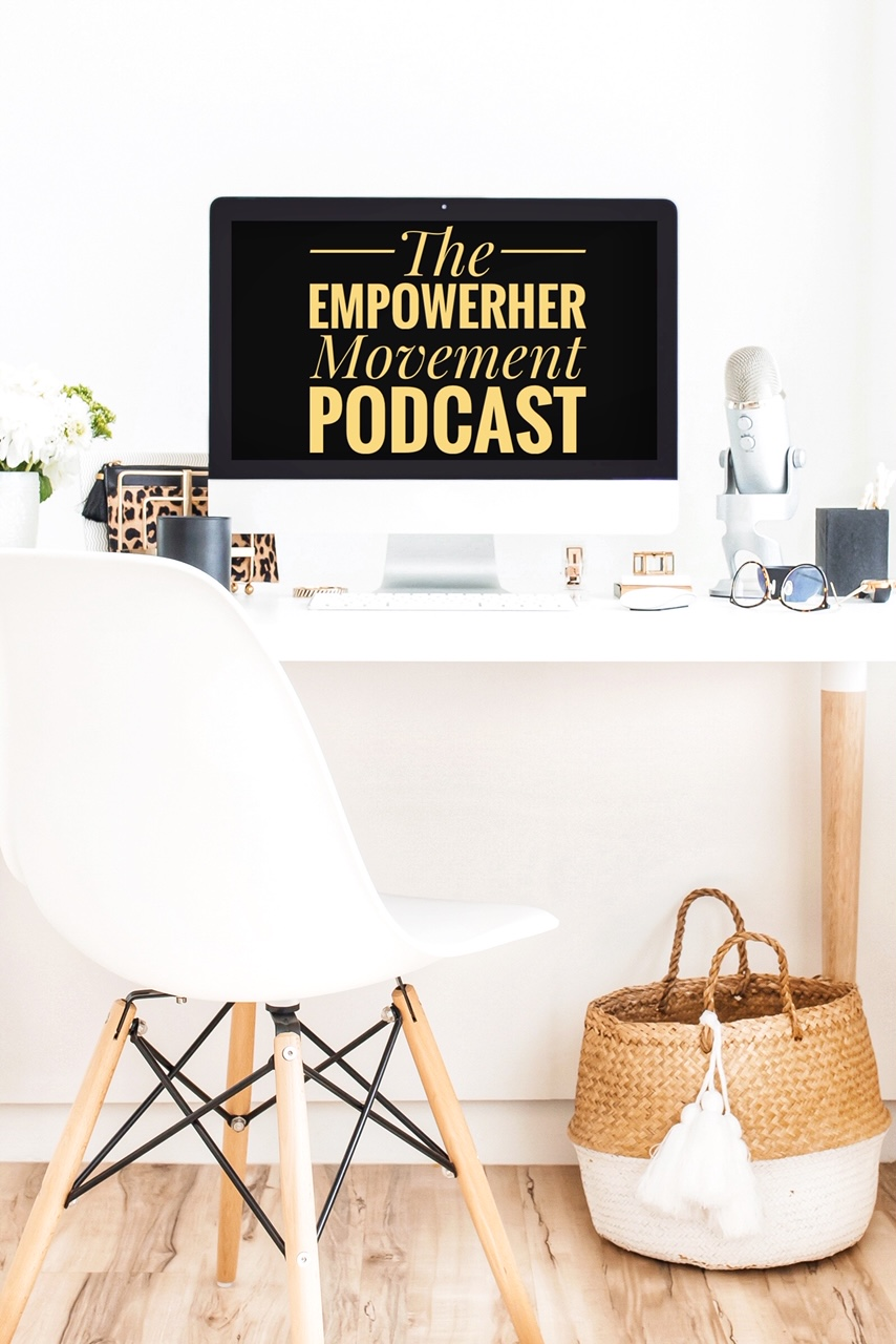 The EmpowerHER Movement's podcast show art