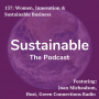 Artwork for 137: Women, Innovation & Sustainable Business with Joan Michaelson, Host of Green Connections Radios