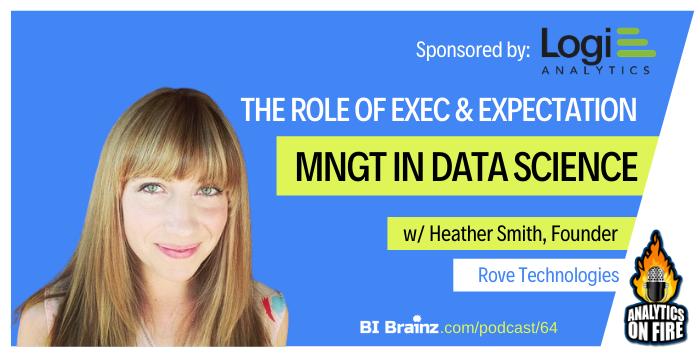 Heather Smith Analytics on Fire Podcast Artwork