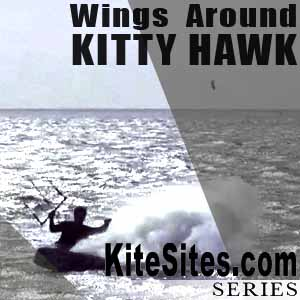 Kitesurfing North Carolina: Wings around KittyHawk