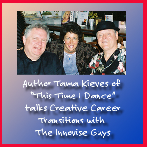 "Tama Kieves of ""This Time I Dance!"" talks to the Innovise Guys from Transitions Bookplace in Chicago"