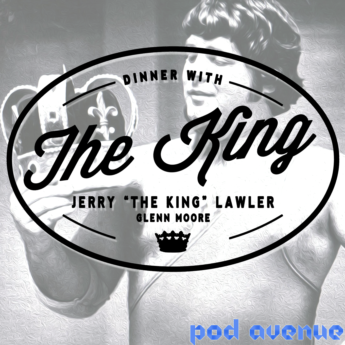 Dinner With The King show art