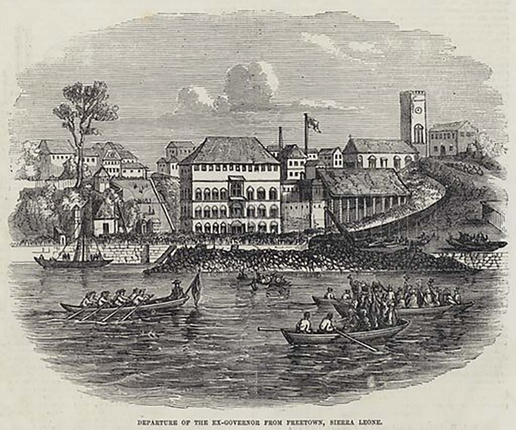 Sierra Leone,1789: the rise and fall of a British colony!