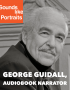 "Artwork for George Guidall: ""As an audiobook narrator, I am an actor"""