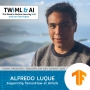 Artwork for Supporting TensorFlow at Airbnb with Alfredo Luque - TWiML Talk #244