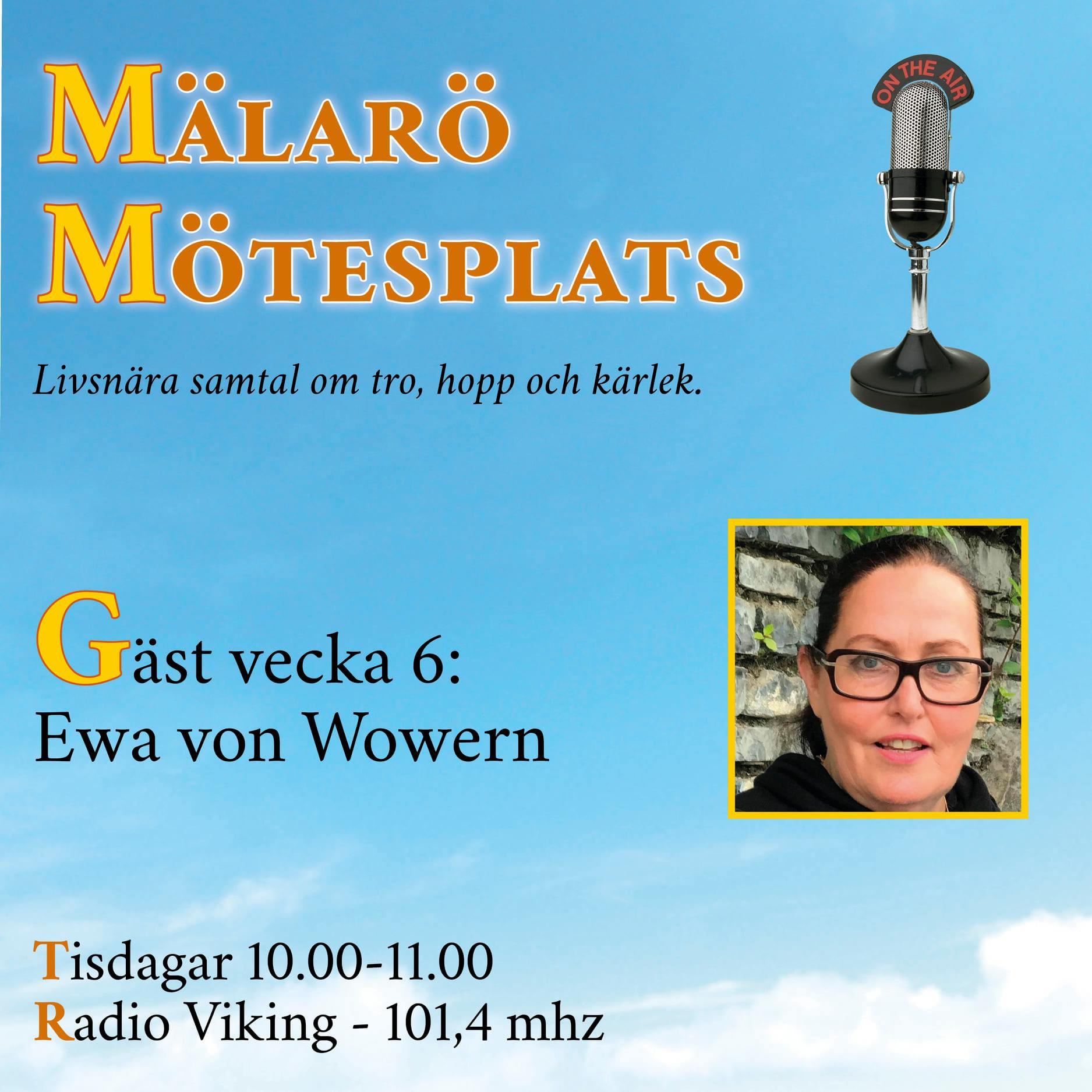 Möte med Ewa von Wowern