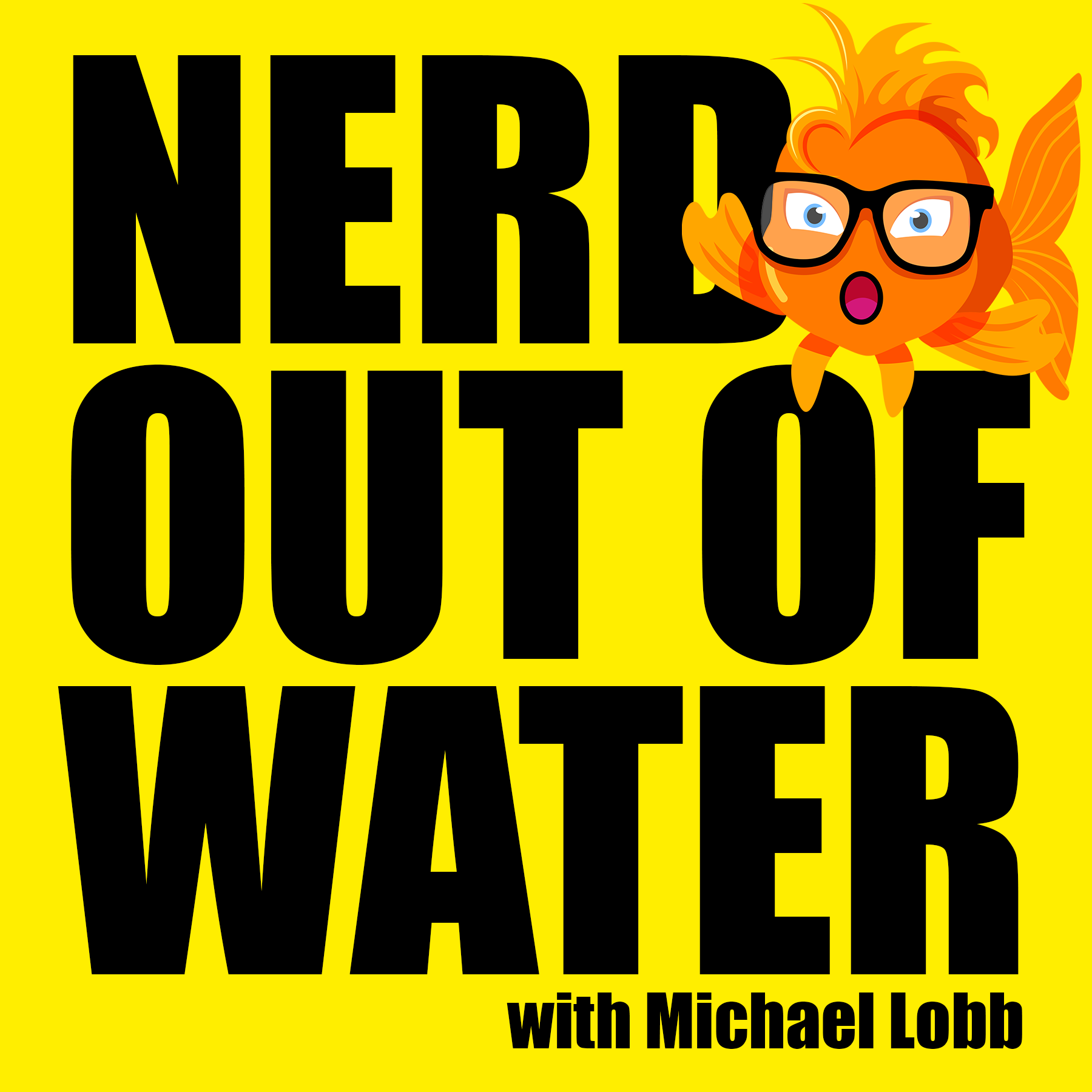 Artwork for Nerds out of Water - Interview with Mark Surkin from Dineable