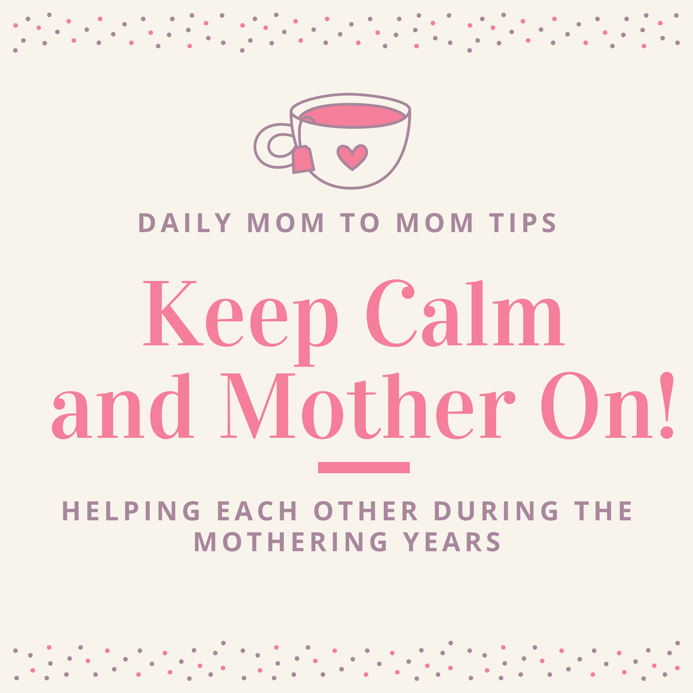 Keep Calm Mother On! with Christy Thomas show art