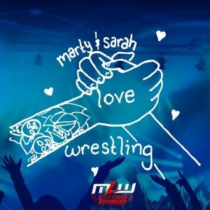 Marty & Sarah Love Wrestling