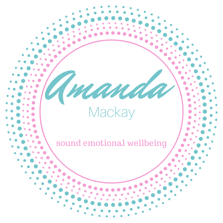Amanda Mackay Sound Healer Podcast show art