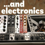 Artwork for Composer Garrett Schumann and percussionist Chris Sies on ...and electronics