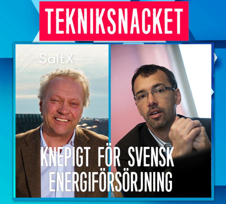 Knepigt för svensk energiförsörjning – hör Kraftnäts ansvarige berätta