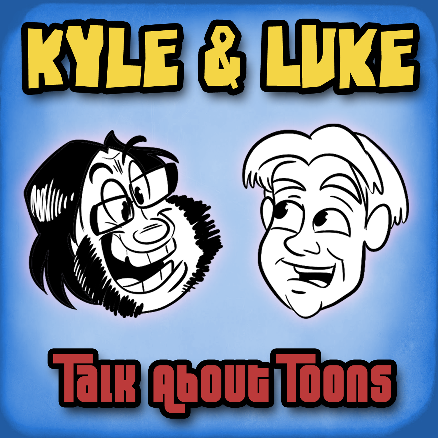 Kyle and Luke: Talk about Toons show art