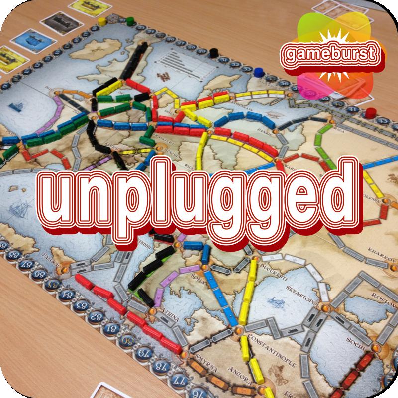 GameBurst Unplugged - Ticket to Ride