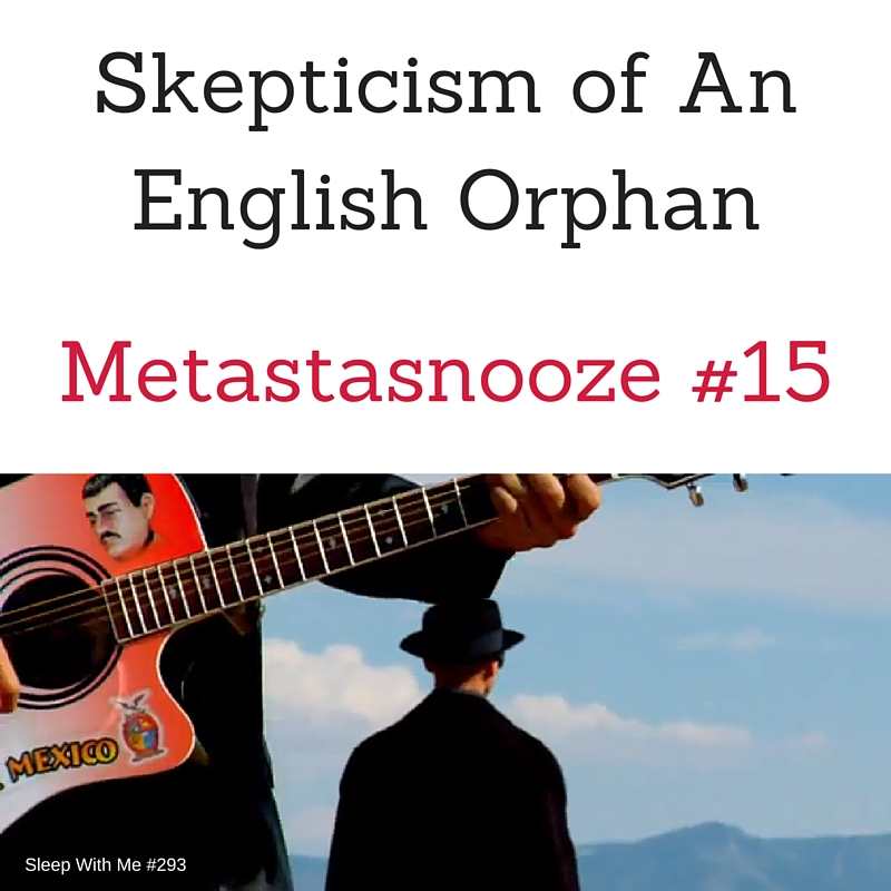 Skepticism of An English Orphan | Metastasnooze #15 Breaking Bad Insomnia With Language Learning | Sleep With Me #293