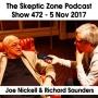 Artwork for The Skeptic Zone #472 - 5.Nov.2017