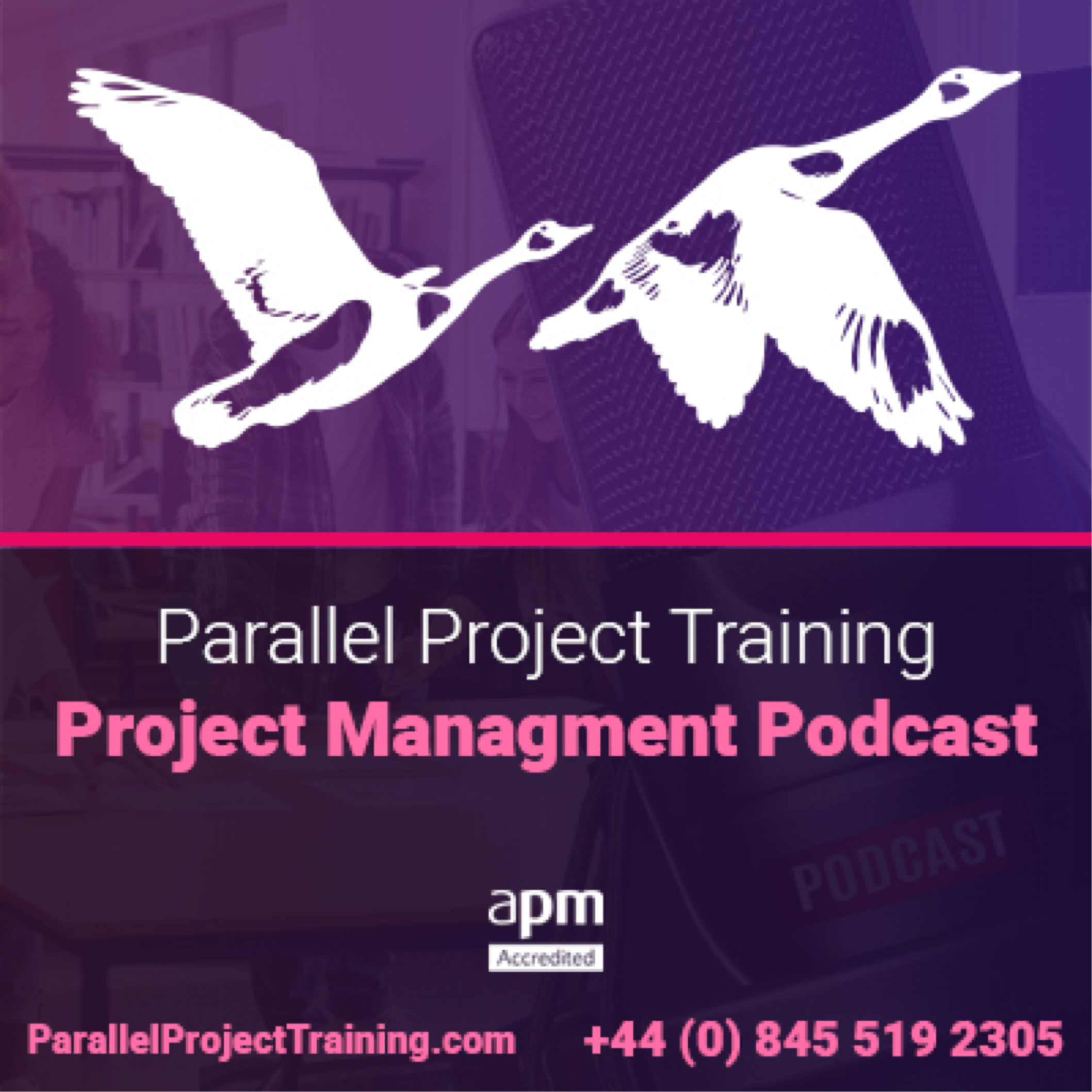 Project Management Training Podcasts show art