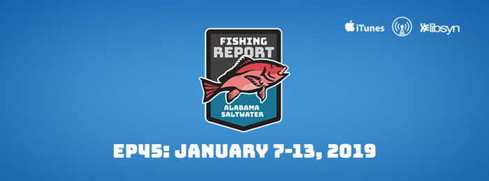 Alabama Saltwater Fishing Report | 45 | Jan.7-13, 2019