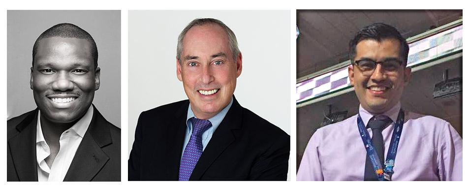 Kevin Lewis, Dan Schnur, and Enrique Gutierrez, Jr.
