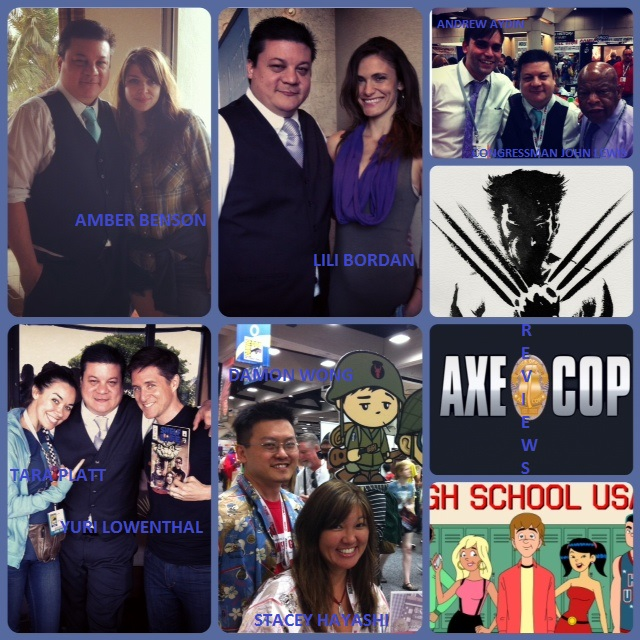 Episode 485 - SDCC w/ Amber Benson, Congressman John Lewis/Andrew Aydin, Yuri Lowenthal/Tara Platt, Lili Bordan, Stacey Ayashi/Damon Wong