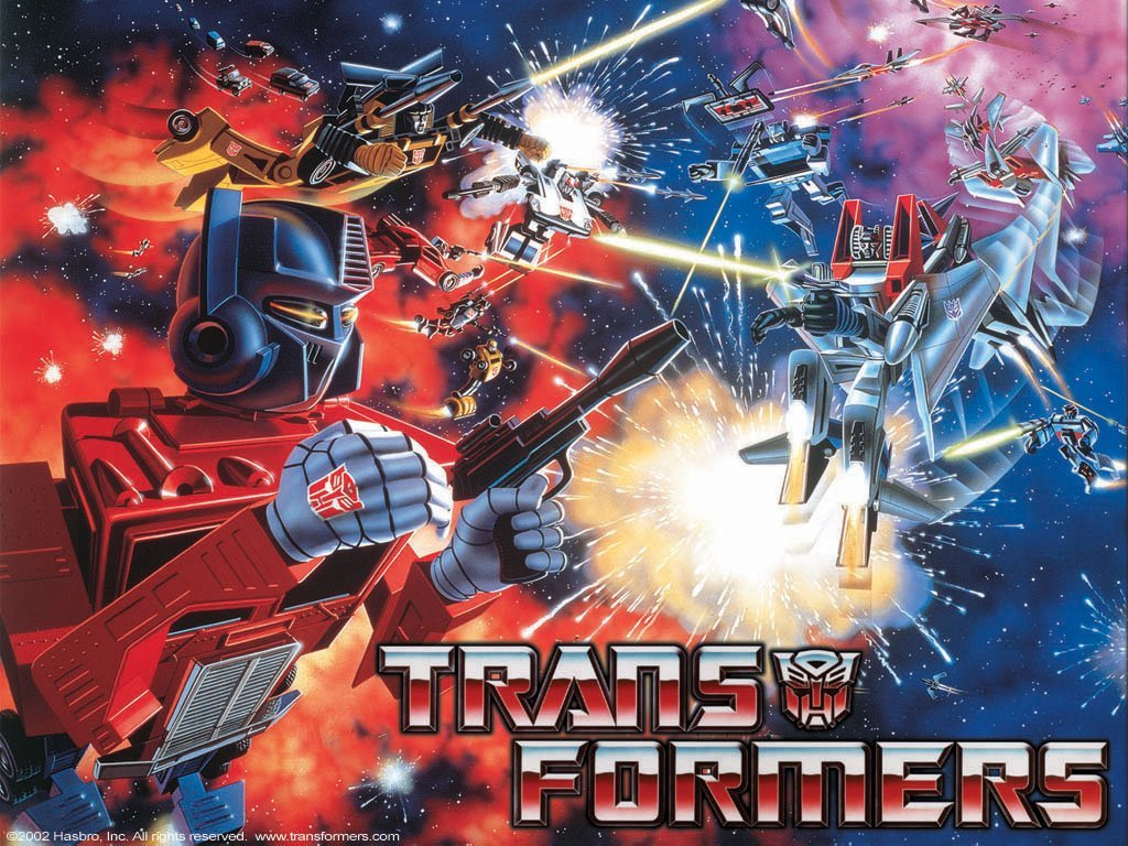 Back in toons- Transformers