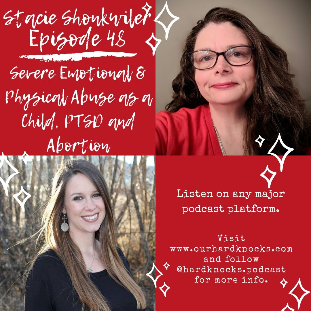 Episode 48: Stacie Shonkwiler - Severe Physical & Emotional Abuse as a Child, PTSD and Abortion