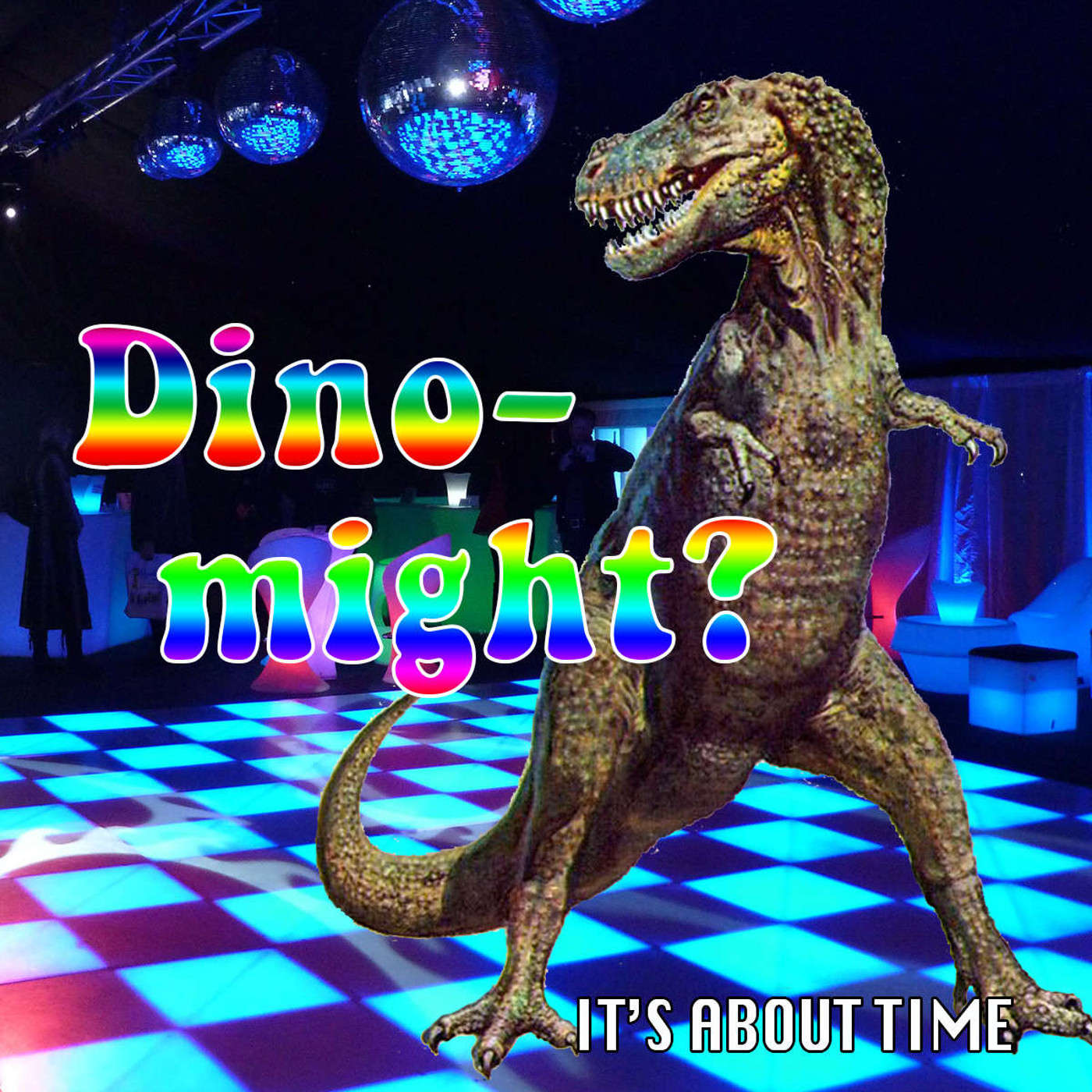 S01E09 - Dino Might? Disco and dinosaurs are featured in this sci-fi comedy episode