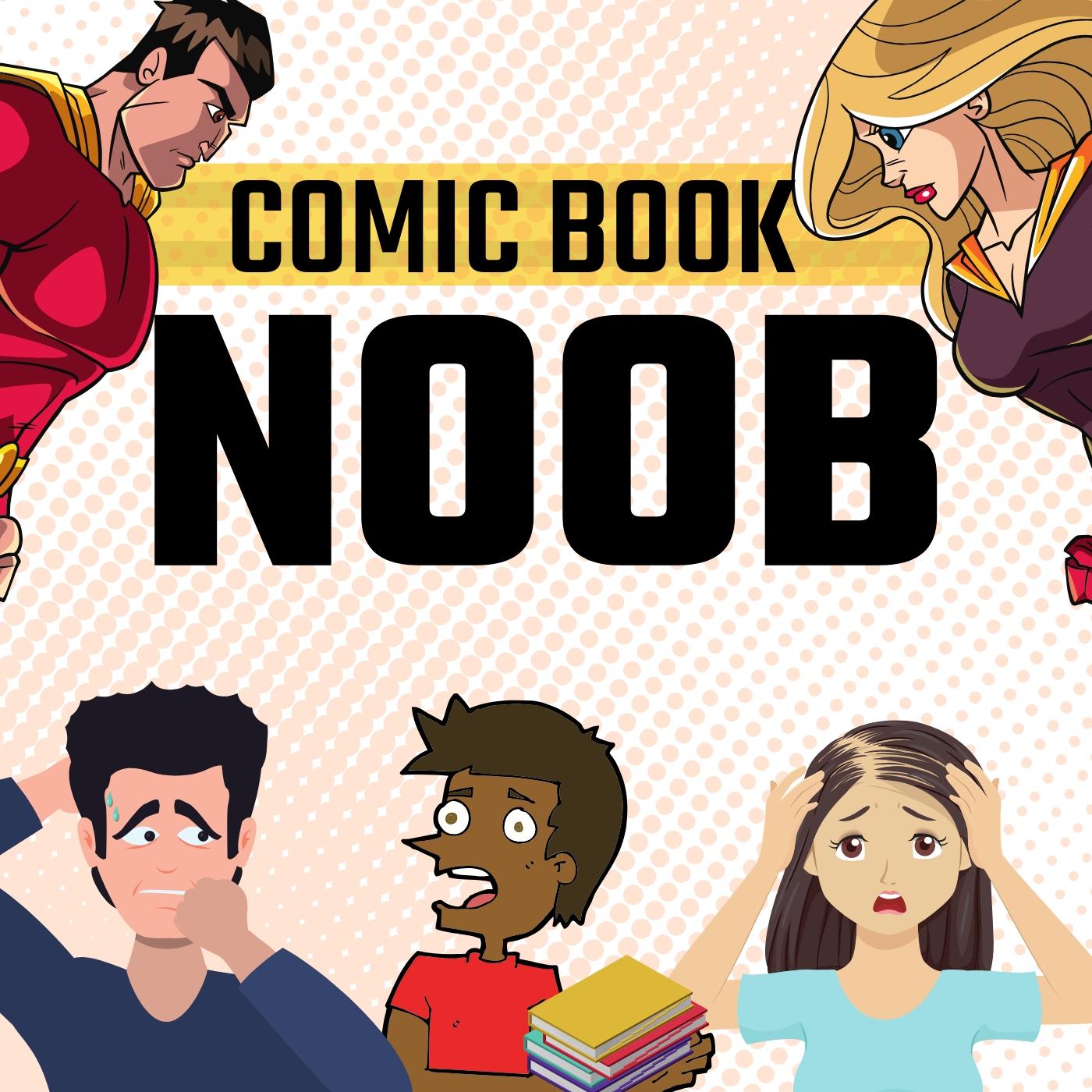 Comic Book Noob show art