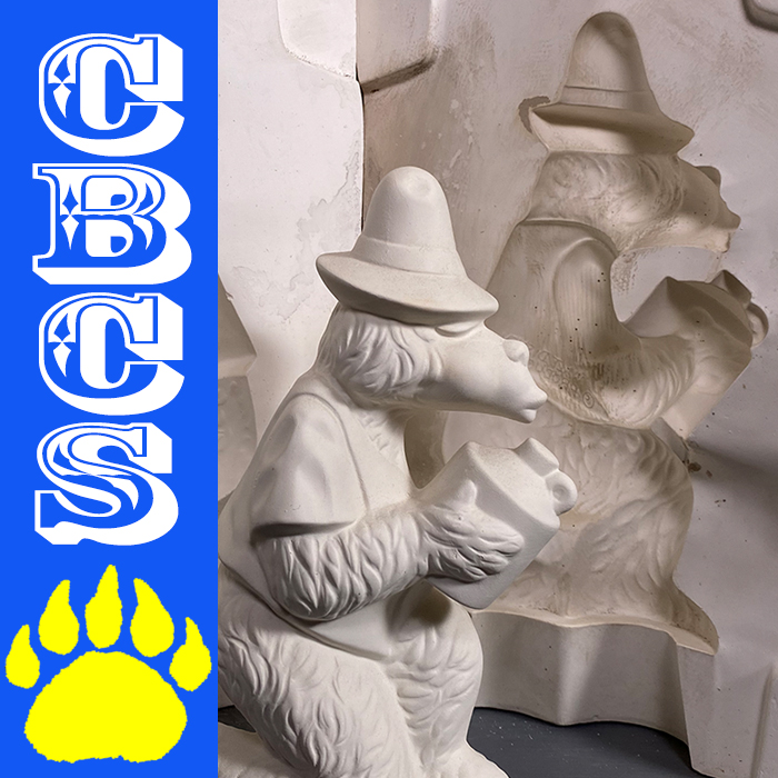 Artwork for 1970s Walt Disney Ted Leisuramics Ceramics Mold - CBCS 315