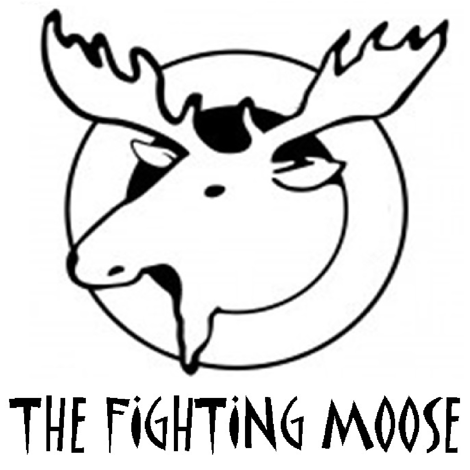 The Fighting Moose show art