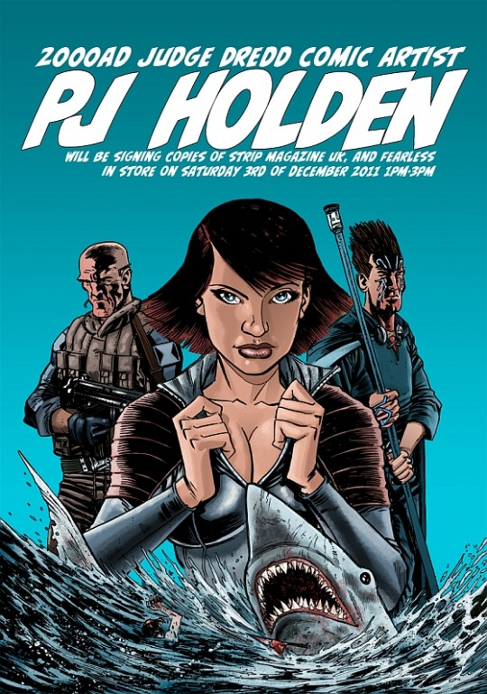 Ep134-ECBT2000AD : PJ Holden Interview