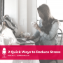 Artwork for 2 Quick Ways to Reduce Your Entrepreneurial Stress