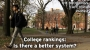 Artwork for College Rankings: Is there a better system?