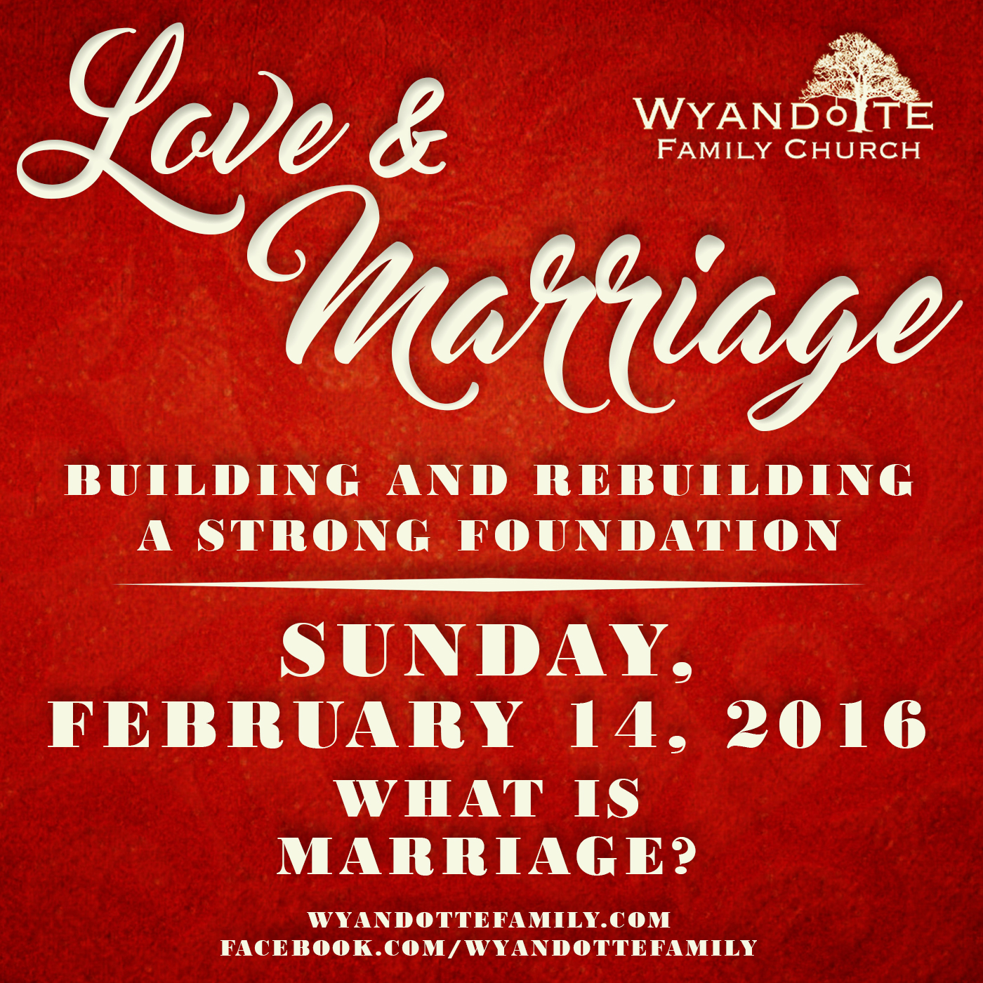 "Love & Marriage Part 1: ""What is Marriage?"""