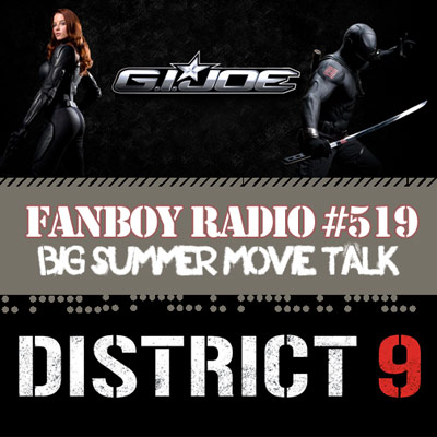 Fanboy Radio #519 - District 9, Brandon Peterson & Dallas Comic Con