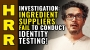 Artwork for INVESTIGATION: Ingredient suppliers FAIL to conduct IDENTITY testing!