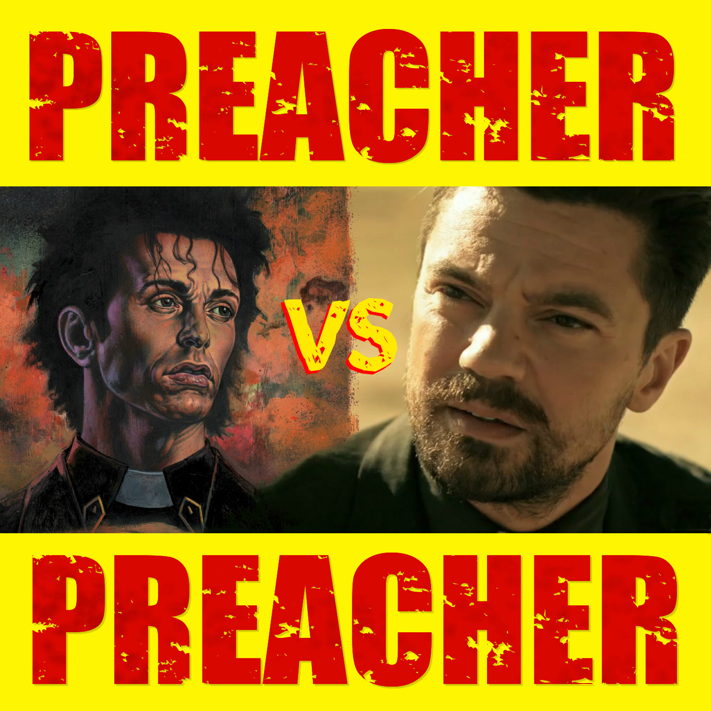 Preacher Vs Preacher: A Comparison Companion logo