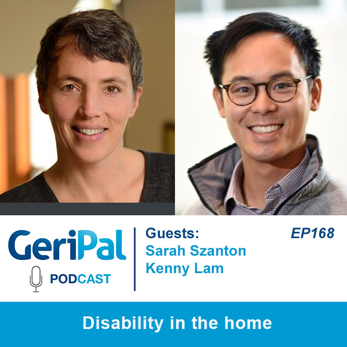 Disability in the home: Podcast with Sarah Szanton and Kenny Lam