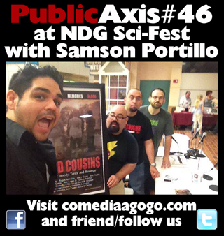Public Axis #46: NDG Sci-Fest with Samson Portillo