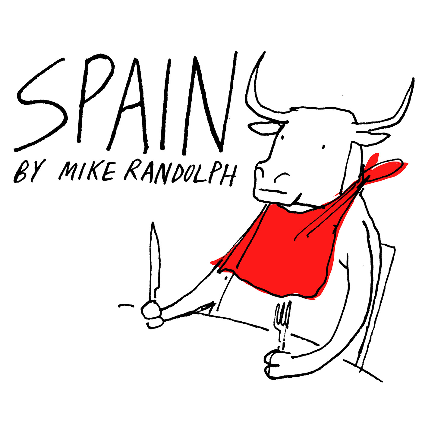 Spain By Mike Randolph show art