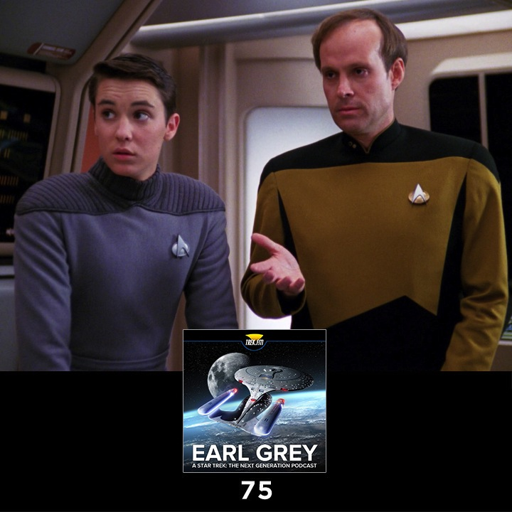 Earl Grey 75: The Woody Allen of Space
