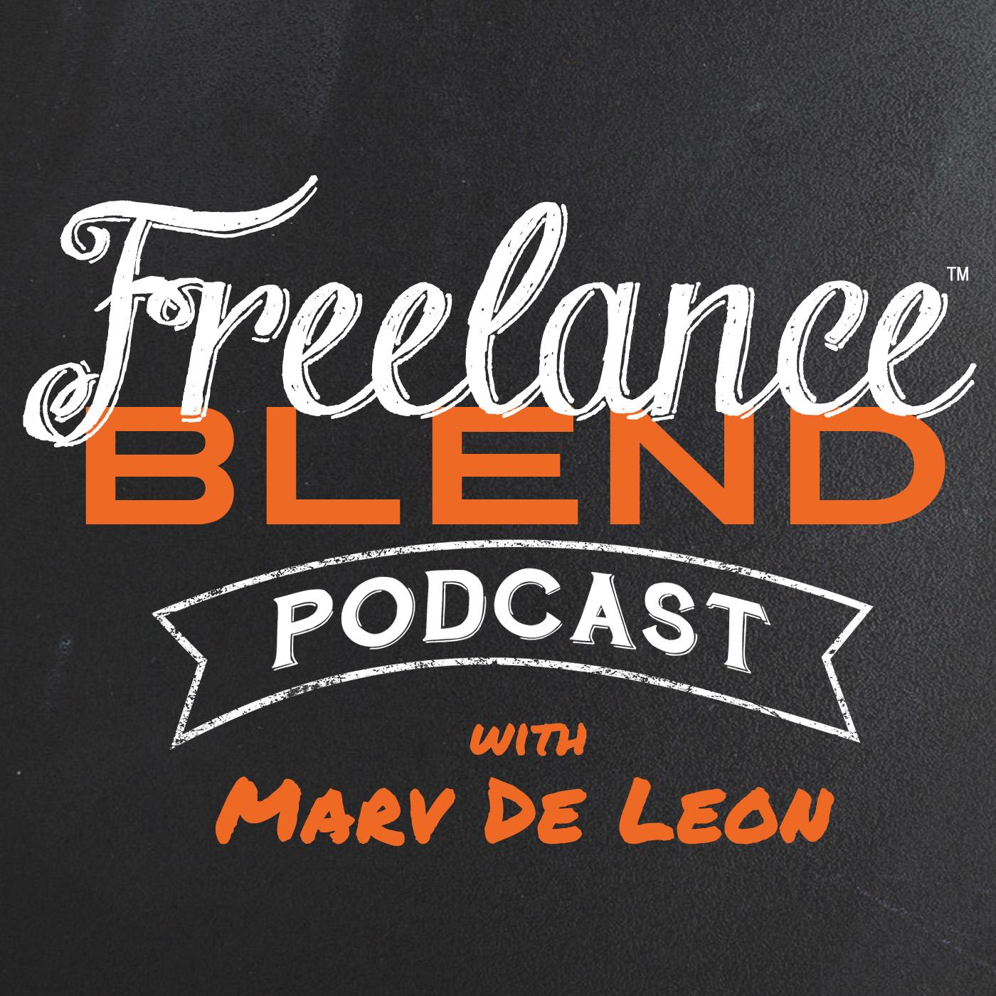 Freelance Blend Podcast show art