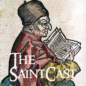 SaintCast #122, A Saint called Bede, CNMC, New St. Jeopardy, Bartolo Longo, audio feedback +1.312.235.2278
