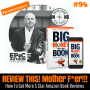 Artwork for #94: REVIEW THIS! (Mother F*er!!) How To Get More 5 Star Amazon Book Reviews - Daily Mentoring w/ Trevor Crane #greatnessquest