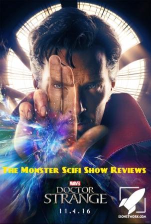 The Monster Scifi Show Podcast - Dr. Strange