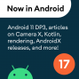 Artwork for 17 - Android 11 DP3, Articles, AndroidX releases, and a podcast