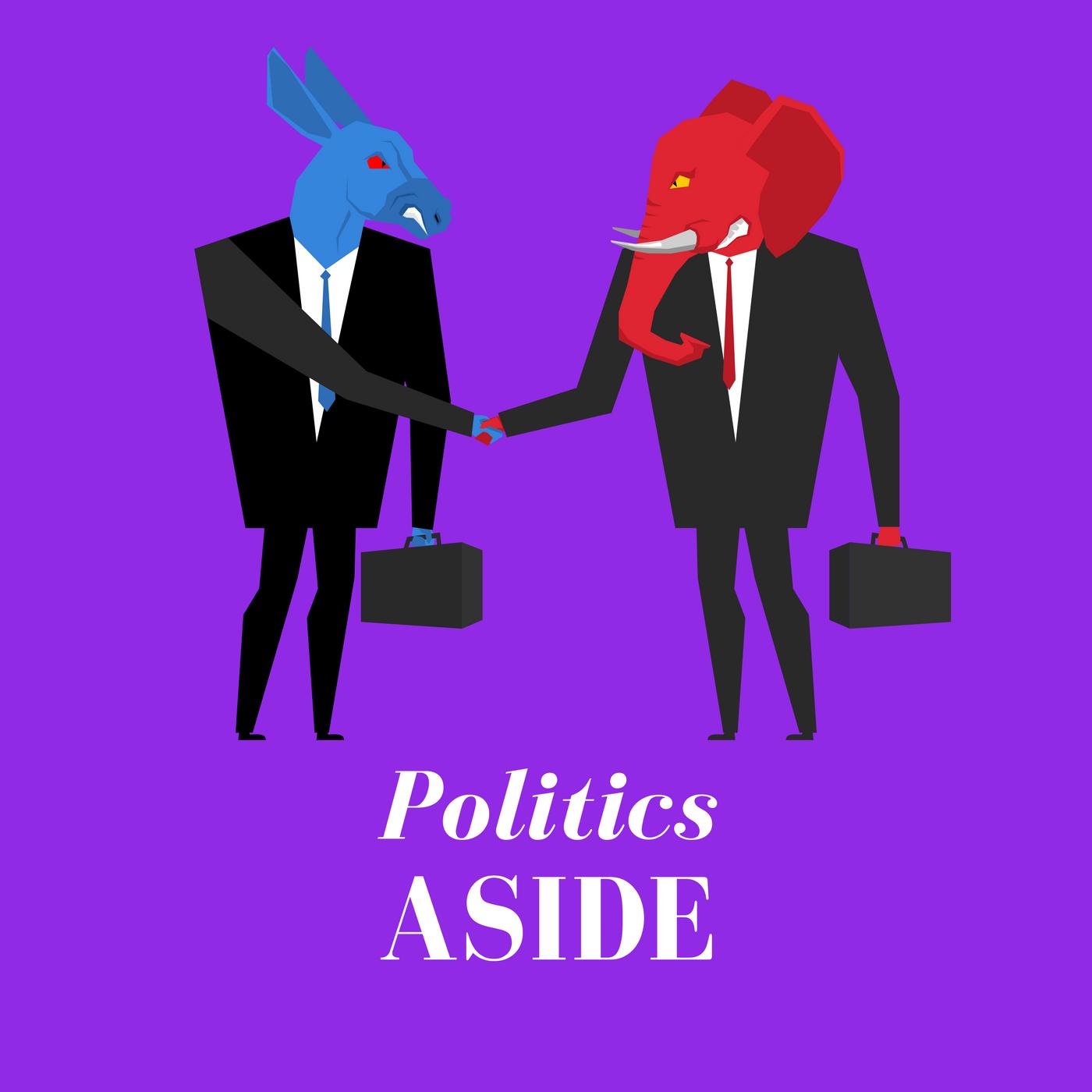 Politics Aside Show show art