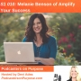 Artwork for S1 010: Melanie Benson of Amplify Your Success