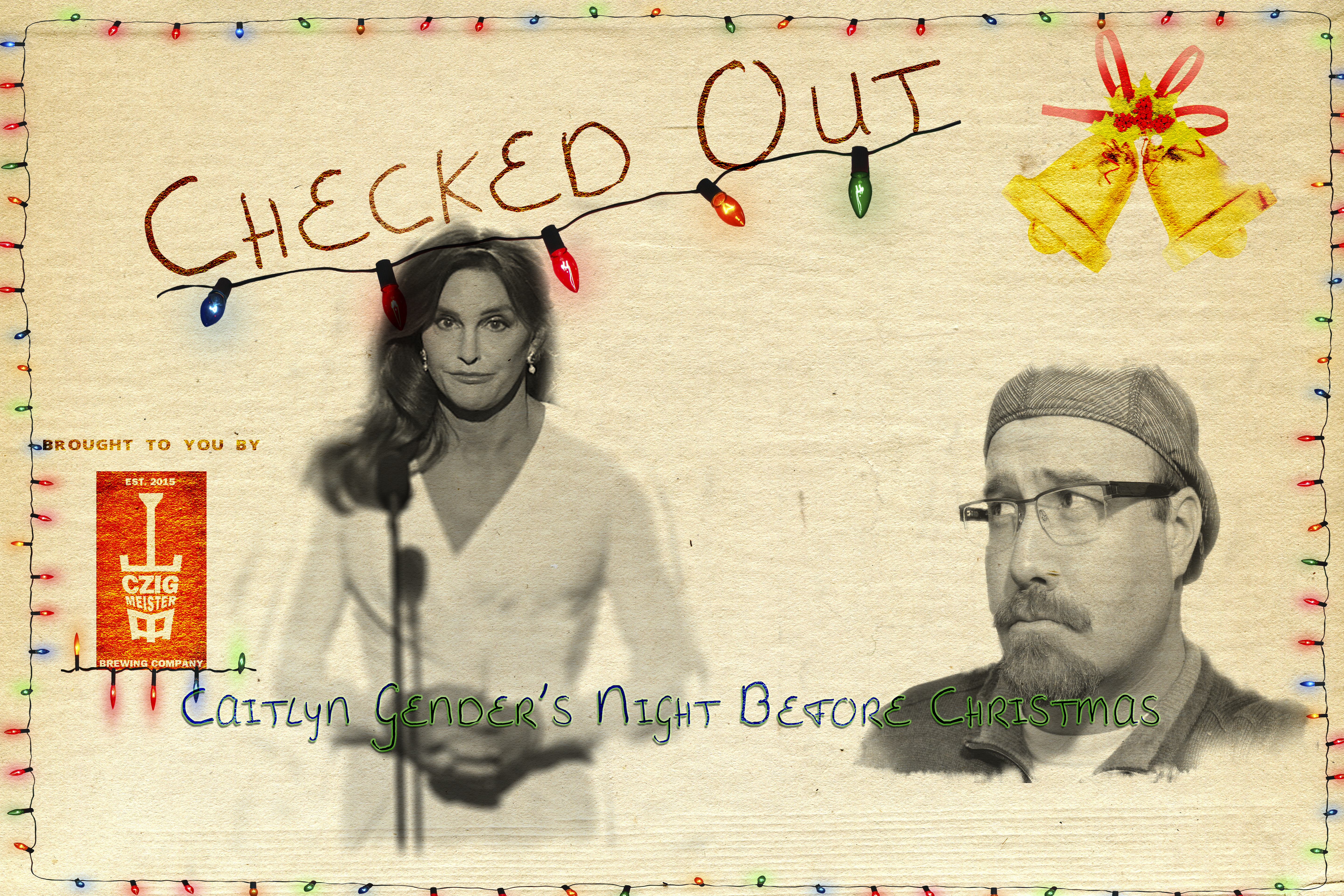 Artwork for Checked Out Shorts- Caitlin Gender's Night Before Christmas